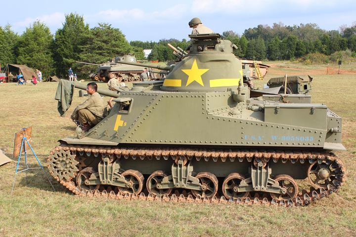 Chrysler Built M3 Grant Lee Tank Photos