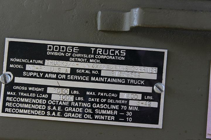 Dodge Trucks in WWII