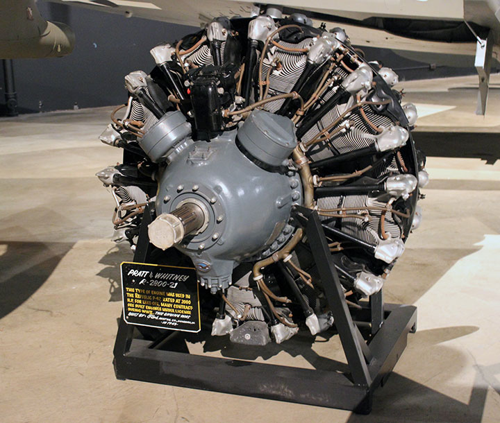 Model A Ford Aircraft Engine